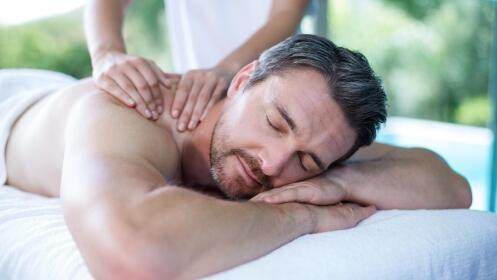 Masaje descontracturante de espalda