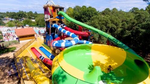 Fines de semana en las landas camping 3 la mer en for Camping en las landas con piscina cubierta