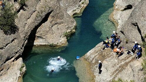 Aventura en Picos de Europa – Descenso de Barrancos (iniciación)