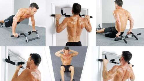 Iron gym barra de ejercicio para mantenerte en forma for Gimnasio gym forma