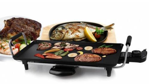 Plancha de asar el ctrica de sogo por oferta con for Plancha electrica para cocinar