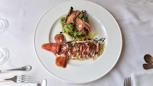 Menú en el Restaurante Matteo de Oiartzun