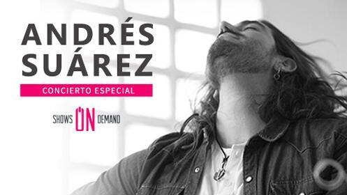 Andrés Suarez en acústico llega en concierto a San Sebastián