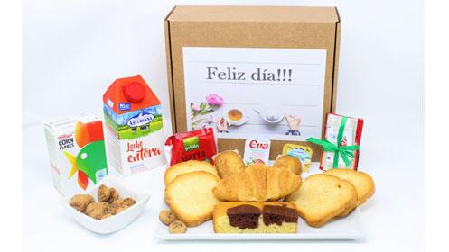 ¡Buenos días! Regala o comparte esta caja desayuno