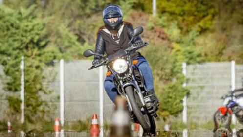 Consigue tu carnet de Moto A1 o A2