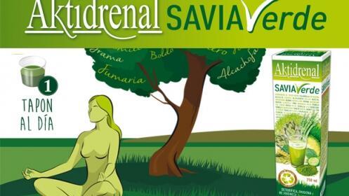 Depura tu organismo con Aktidrenal savia verde de Tongil y llévate un ensaladera portátil de regalo