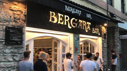 Menú en el Bar Bergara