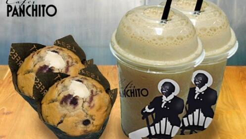 2 cafés frappe a elegir + 2 muffins en Cafés Panchito