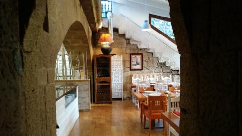 Menú en pleno casco histórico de Hondarribia
