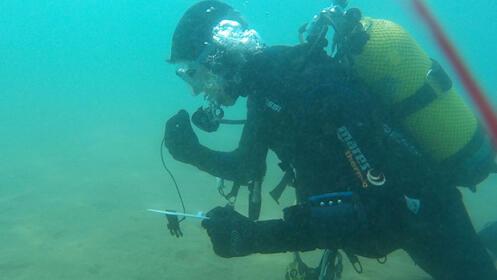 Cursos de  buceo en el mar con IrutxuloSub
