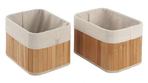 Set de cestos de Bambú