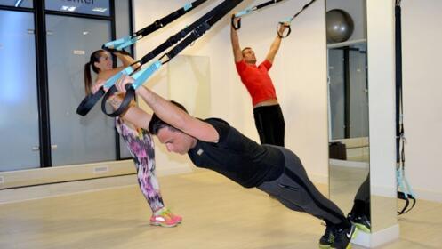 8 clases de entrenamiento en suspensión