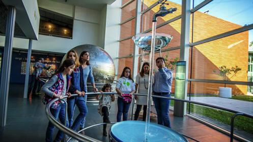 Entrada Museo de la Ciencia Eureka!