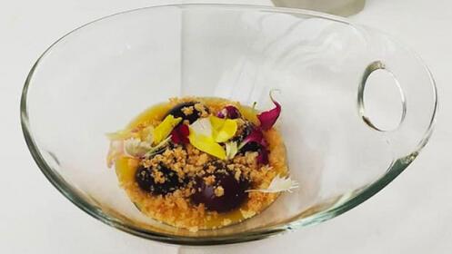 Menú de otoño del prestigioso chef Ixak Salaberria en Fagollaga