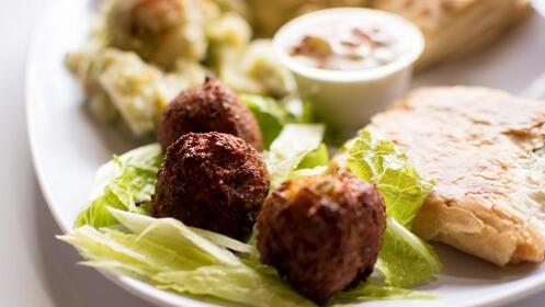 Menú vegetariano en Restaurante New Versalles de Rentería