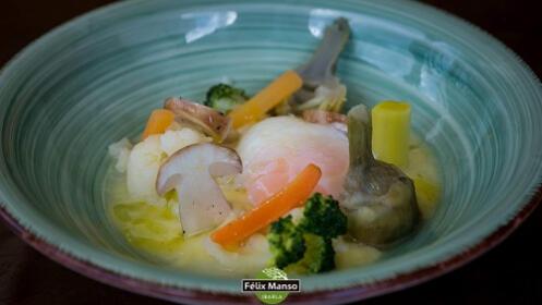 Delicioso menú de caza que nos propone el chef Félix Manso