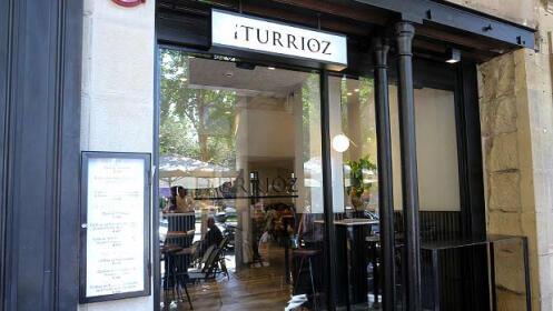 Un menú de pintxos en el Bar Iturrioz