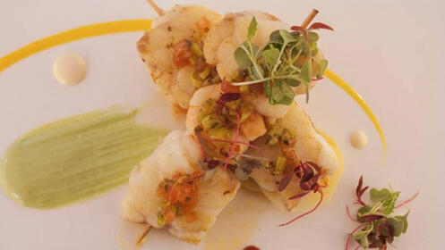 Menú en el Restaurante La Muralla en San Sebastián
