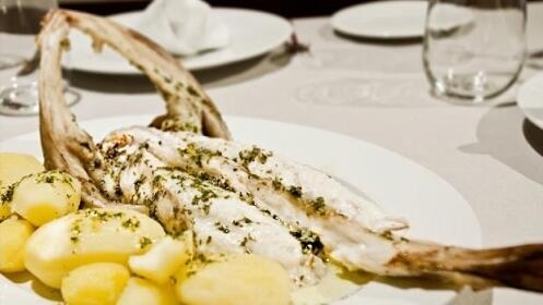Exquisito menú junto al valle de Leizaran!!