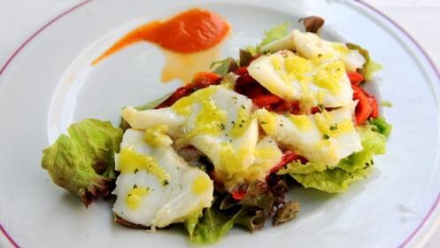 Exquisito menú con opción a Cristóbal Balenciaga Museoa