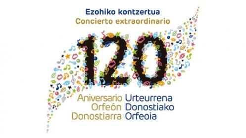 """Entradas """"Concierto 120 aniversario"""" del Orfeón Donostiarra"""