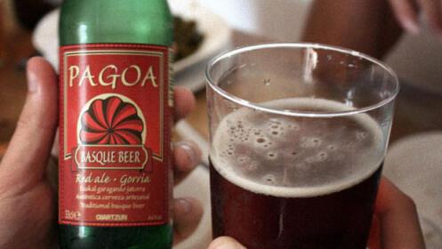 Visita a la fábrica de cerveza Pagoa, con cata y picoteo