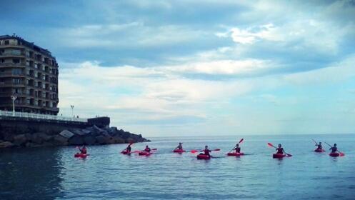 Paseo en Kayak o canoa canadiense ¡Disfruta en el Urumea!