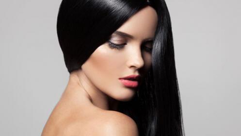 Luce cabello espectacular con un alisado marroquí