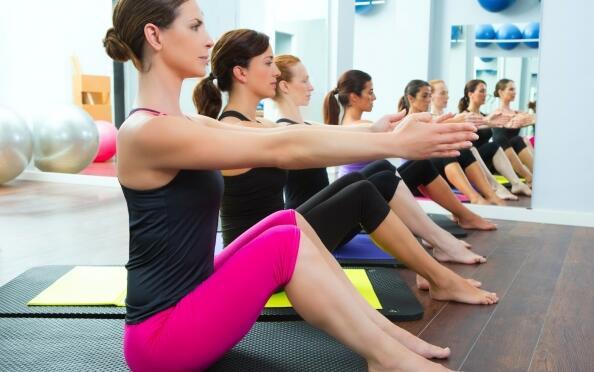 4 sesiones de Pilates