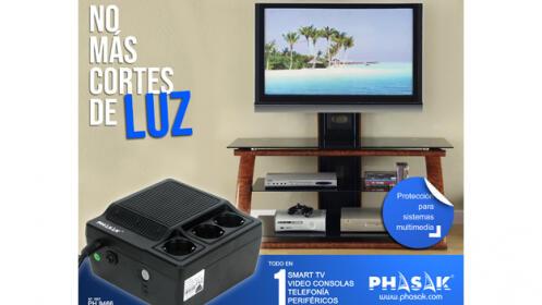 Protector de sistemas multimedia (Smart TV, consolas, móvil, etc)