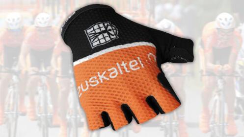 Guantes del equipo ciclista Euskaltel