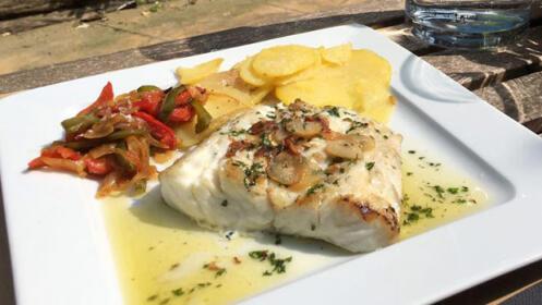 Menú en el restaurante Miralles