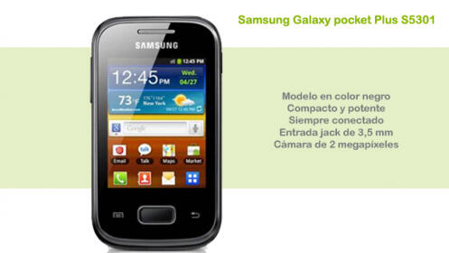 Samsung Galaxy pocket Plus S5301 (Libre)