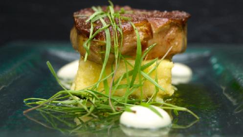 Menú de invierno del prestigioso chef Ixak Salaberria en Fagollaga
