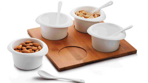 Bowls aperitivo con cuchara