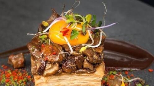 Menú en el restaurante Kaialde de Lezo