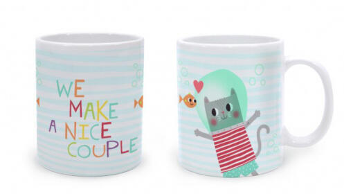 Taza Nice Couple