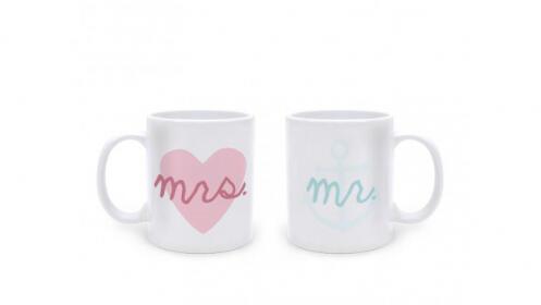 Tazas Mr & Mrs Pooch