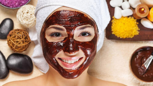 Tratamiento exfoliante corporal con chocolate belga ecológico