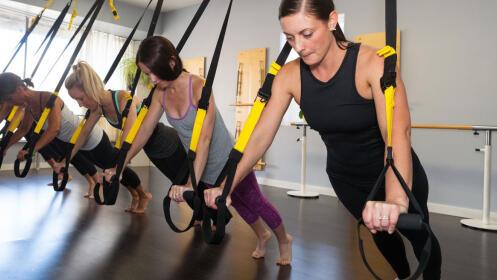 Clases de K-Stretch, Hipopresivos o TRX Entrenamiento  en Stretch Center Amara