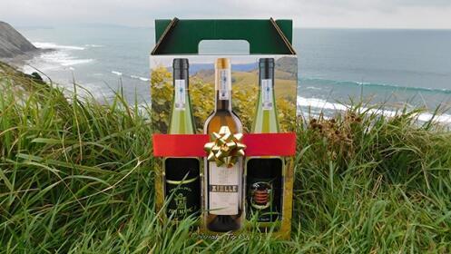 Txakoli Aizpurua, pack de 3 botellas