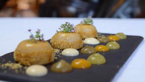 Menú en el Restaurante Urepel en Donostia
