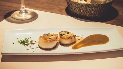 Menú en el Restaurante Okamika